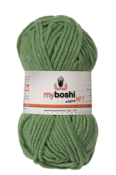Lana No 1 My Boshi 665385000000 Colore Verde N. figura 1