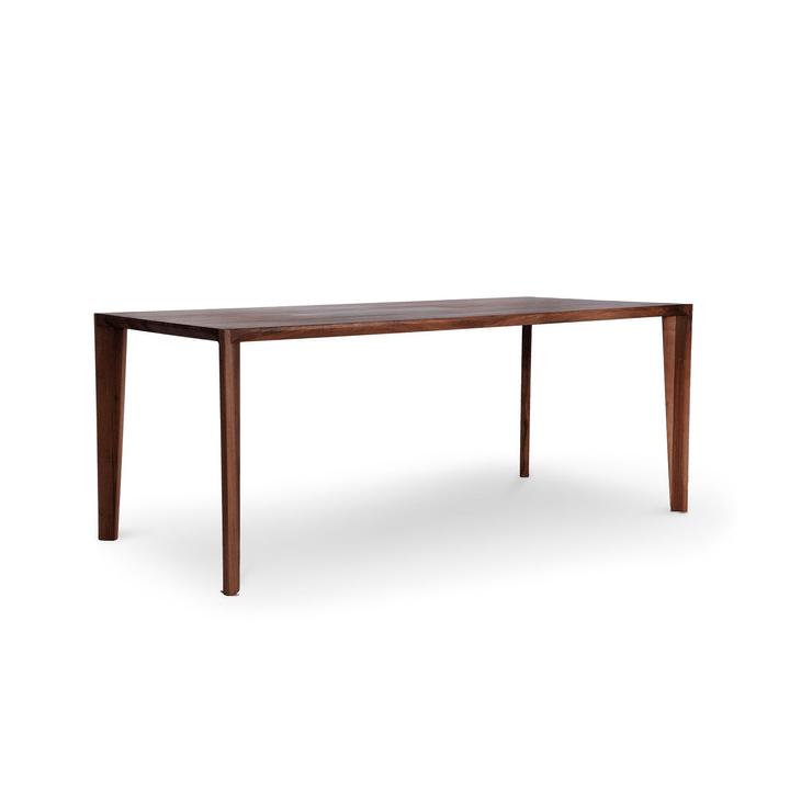 HANNY II Tavolo in legno massiccio 366025382102 Dimensioni L: 180.0 cm x P: 90.0 cm x A: 74.0 cm Colore Noce N. figura 1