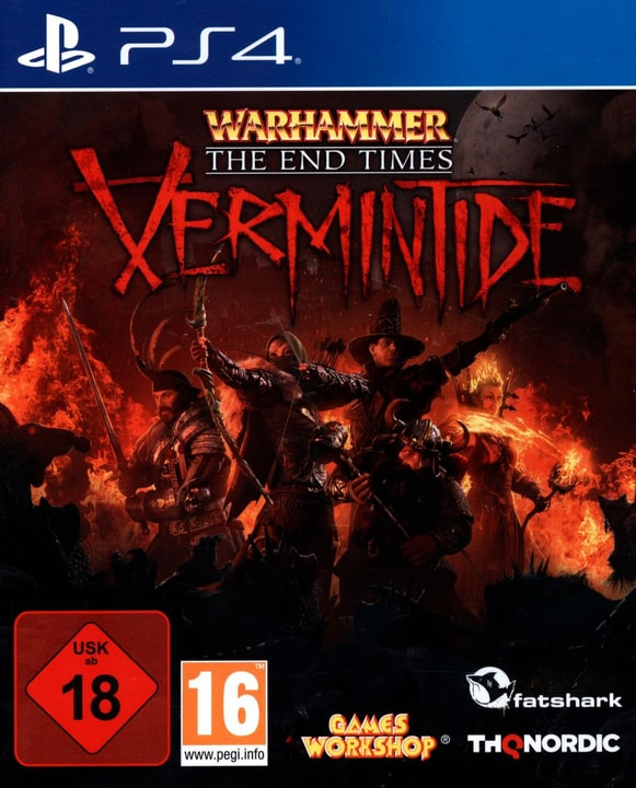 PS4 - Warhammer: The End Times - Vermintide Physisch (Box) 785300129490 Bild Nr. 1