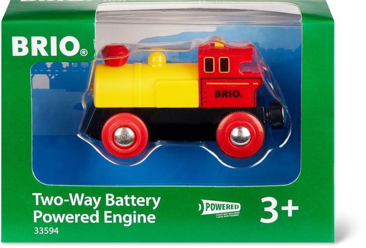 BRIO Locomotiva a pile (FSC) 745329200000 N. figura 1