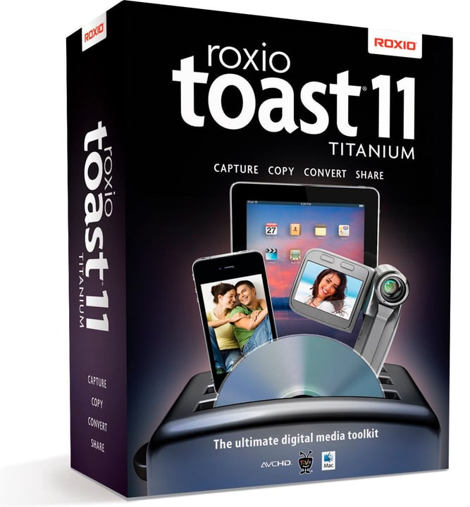 Roxio Toast 11 Titanium Mac Numérique (ESD) Corel 785300133454 Photo no. 1