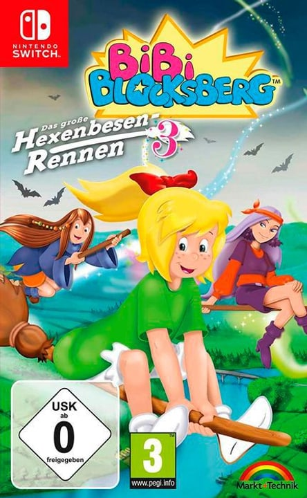 NSW - Bibi Blocksberg: Hexenbesen-Rennen 3 D Box 785300139606 N. figura 1