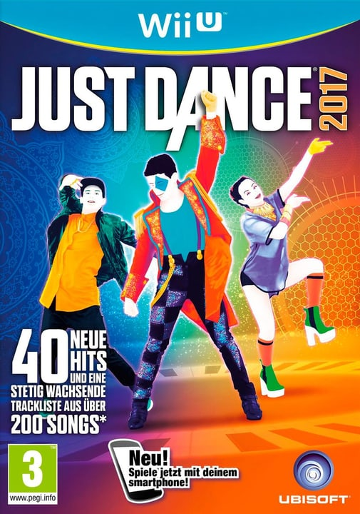 WiiU - Just Dance 2017 Physique (Box) 785300121216 Photo no. 1