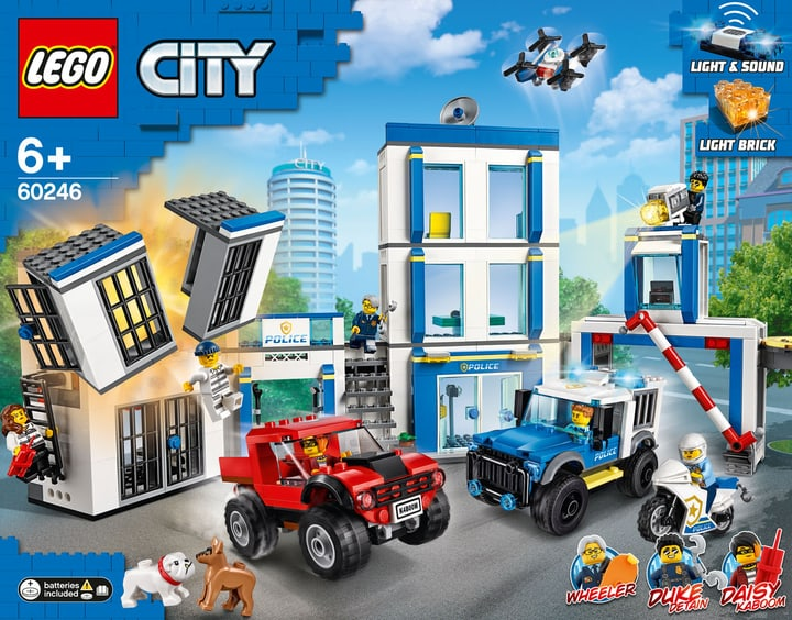 LEGO CITY 60246 Le commissariat d 748729100000 Photo no. 1