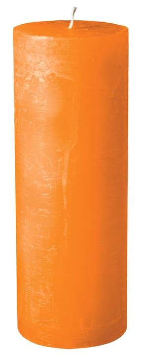 BAL Bougie cylindrique 440582900834 Couleur Orange Dimensions H: 22.0 cm Photo no. 1
