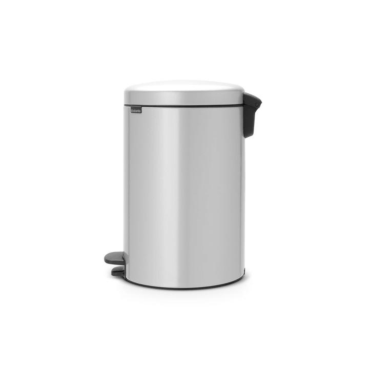 NEWICON poubelle brabantia 386234100000 Dimensions L: 38.0 cm x P: 29.0 cm x H: 46.7 cm Couleur Argenté Photo no. 1