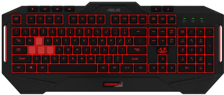 Cerberus MKII Keyboard Tastatur Asus 785300136615 Bild Nr. 1