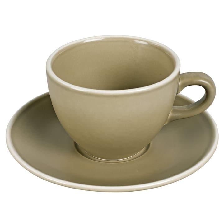 MAELLE Kaffeetasse inkl. Untertasse 440268600088 Farbe Taupe Grösse H: 7.8 cm Bild Nr. 1