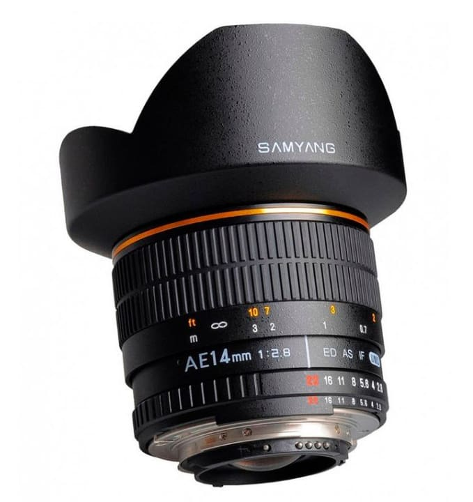 14mm F/2.8 IF ED UMC Aspherical pour Sony Objectif Samyang 785300125120 Photo no. 1