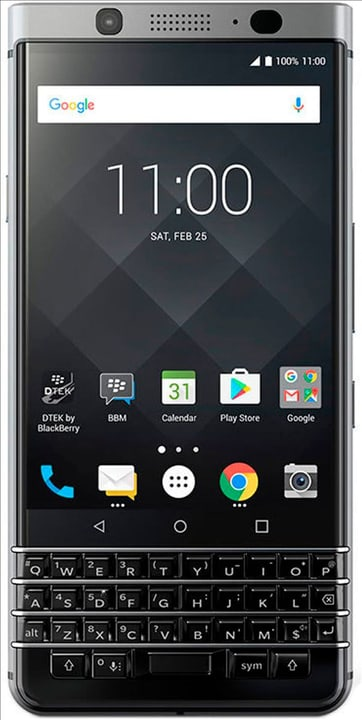 KEYone QWERTZ noir Smartphone Blackberry 785300133117 Photo no. 1