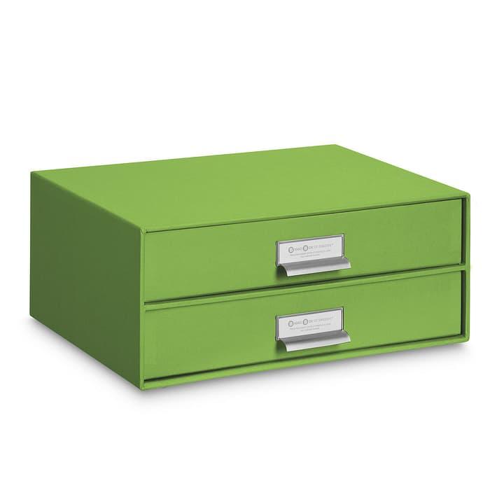 BIGSO CLASSIC Boîte avec tiroirs 386061600000 Dimensions L: 25.0 cm x P: 33.5 cm x H: 14.0 cm Couleur Vert Photo no. 1