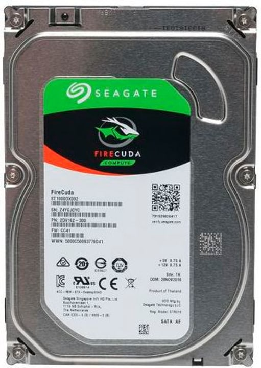 """SSHD FireCuda 3.5"""" 2 TB Disque Dur Interne HDD Seagate 785300145848 Photo no. 1"""