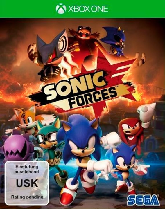 Sonic Forces - Day One Edition [XONE] (F) Physique (Box) 785300129662 Photo no. 1