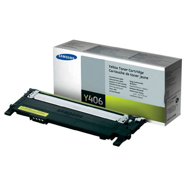 Toner yellow CLT-Y406S CLP 360 Samsung 796072600000 Photo no. 1