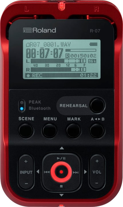 R-07 - Rouge Audio Recorder Roland 785300150586 Photo no. 1