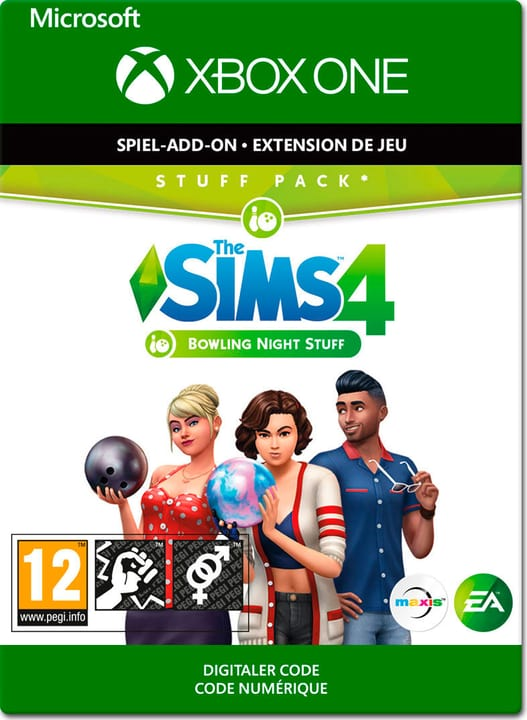 Xbox One - The Sims 4: Bowling Night Stuff Download (ESD) 785300142884 N. figura 1