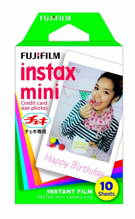 Instax Mini Film 1 x 10 photos FUJIFILM 785300123590 Photo no. 1