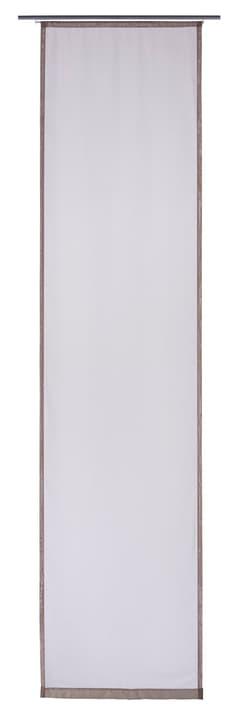 ELME Flächenvorhang 430569430480 Farbe Grau Grösse B: 60.0 cm x H: 245.0 cm Bild Nr. 1