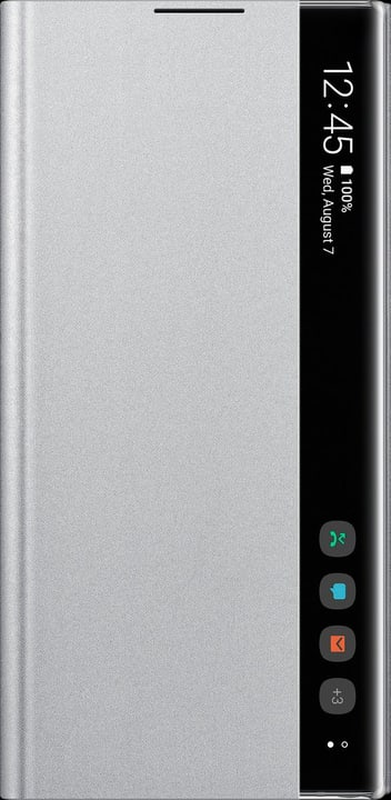 Clear View Cover silver Hülle Samsung 785300146405 Bild Nr. 1