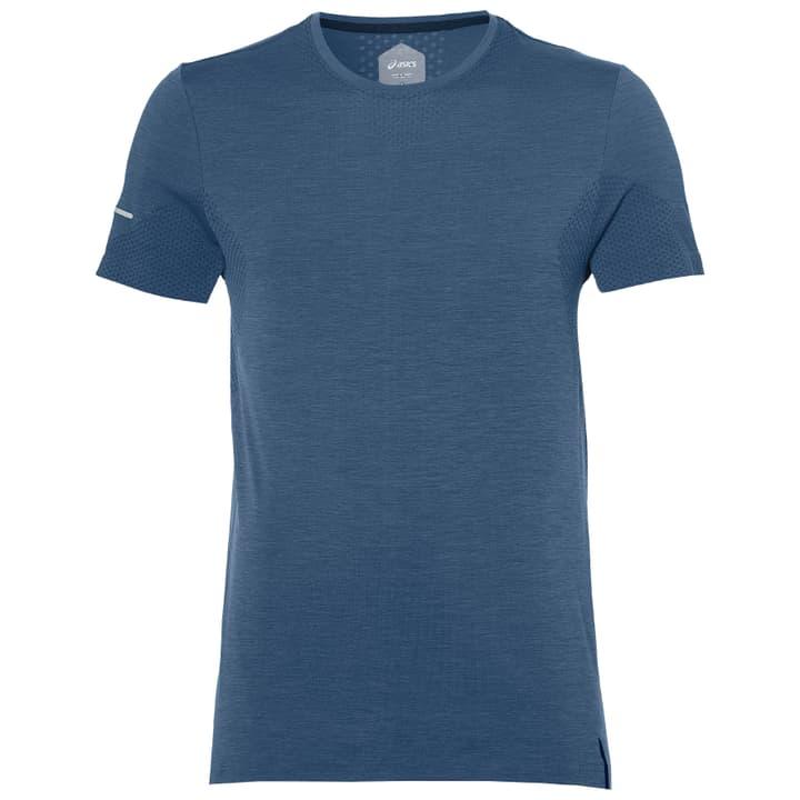 SEAMLESS SS Shirt pour homme Asics 470145900447 Couleur denim Taille M Photo no. 1