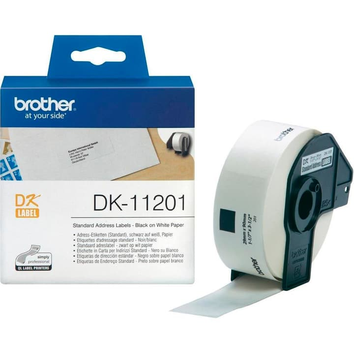 DK-11201 P-Touch étiquettes 29x90mm Brother 785300124008 Photo no. 1