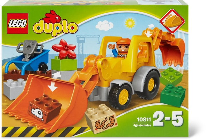 LEGO DUPLO La pelleteuse 10811 748815200000 Photo no. 1