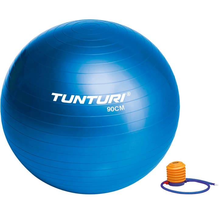 Gymnastikball D90cm blau Tunturi 463036200000 Bild-Nr. 1