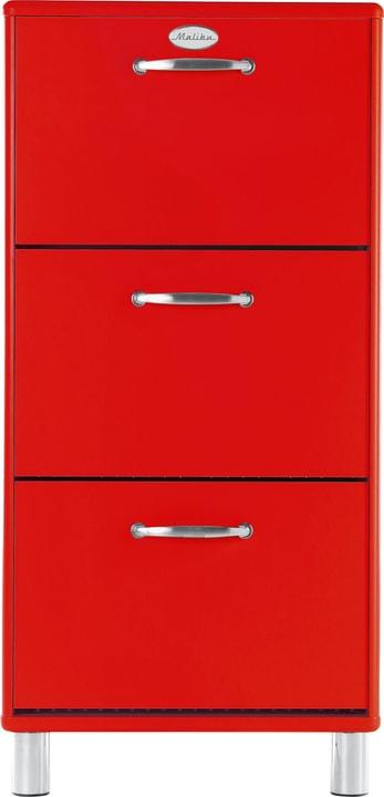 MALIBU Schuhkippe 407327000000 Grösse B: 58.0 cm x T: 24.0 cm x H: 123.0 cm Farbe Rot Bild Nr. 1