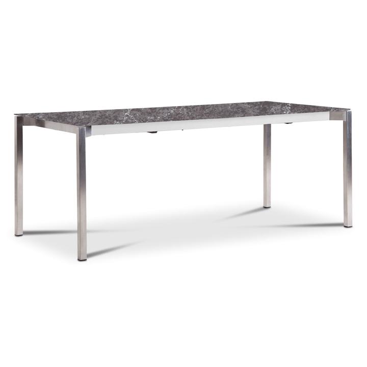 LUZON Table àrallonge 368072800000 Dimensions L: 190.0 cm x P: 90.0 cm x H: 75.0 cm Couleur Gray mist Photo no. 1