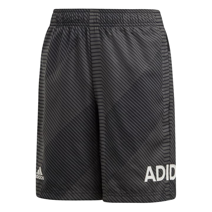 Branded Woven Short Knaben-Short Adidas 464599712883 Farbe Dunkelgrau Grösse 128 Bild-Nr. 1