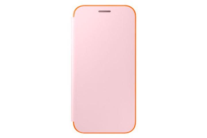 Neon Flip Cover A5 2017 rose Samsung 798076100000 Photo no. 1