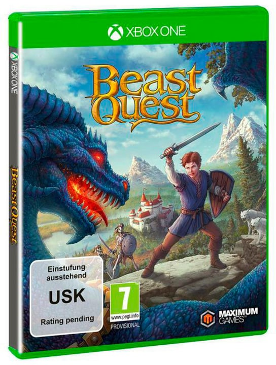 Xbox One - Beast Quest D Box 785300130303 Bild Nr. 1
