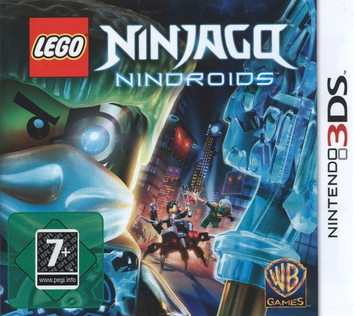 3DS - LEGO Ninjago: Nindroids 785300121559 Photo no. 1