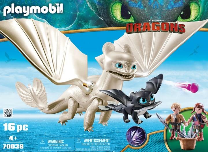 PLAYMOBIL 70038 Furie Éclair et bébé dragon avec les enfants 748008100000 Photo no. 1