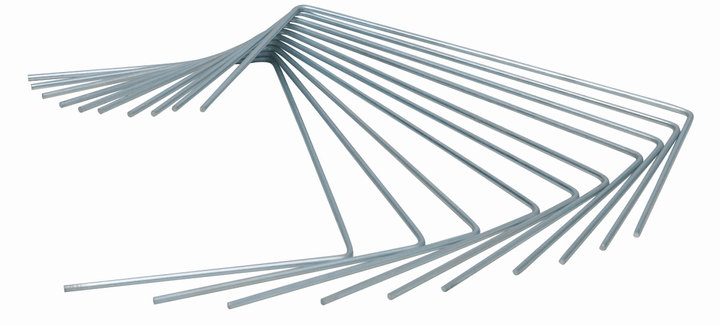 Picchetti metallici Picchetti Windhager 631258500000 N. figura 1
