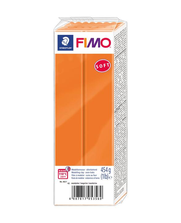 FIMO bloc grand, mandarine Fimo 666931000000 Photo no. 1