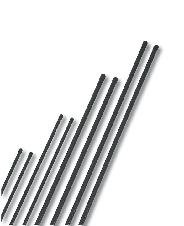 Tuteurs acier plastifié 120cm Windhager 631505200000 Photo no. 1