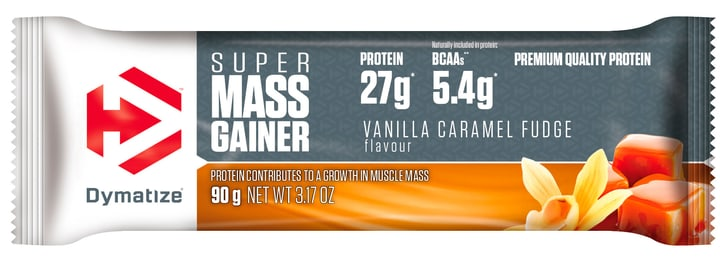 SUPER MASS GAINER BAR Barretta Dymatize 463012303700 Gusto Vaniglia N. figura 1