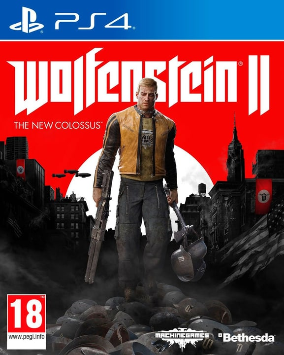 PS4 - Wolfenstein II: The New Colossus Fisico (Box) 785300129115 N. figura 1
