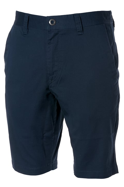 Frickin Modern Stretch Chino-Shorts Short pour homme VOLCOM 462359500343 Couleur bleu marine Taille S Photo no. 1