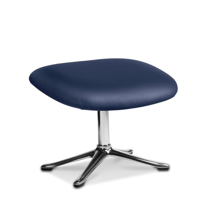 BAYA poggapiedi, piedi cromo 360054275107 Dimensioni L: 50.0 cm x P: 45.0 cm x A: 39.0 cm Colore Blu scuro N. figura 1
