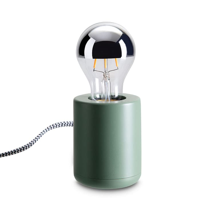 BASE Lampe de table 380044500000 Dimensions L: 7.0 cm x P: 7.0 cm x H: 17.0 cm Couleur Vert Photo no. 1