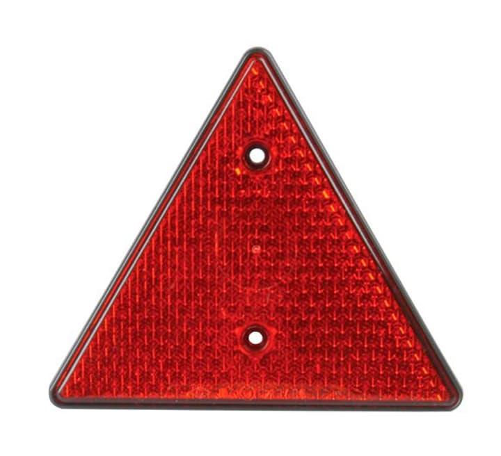 Catadioptre triangulaire rouge Remorque + caravane Unitec 621528100000 Photo no. 1