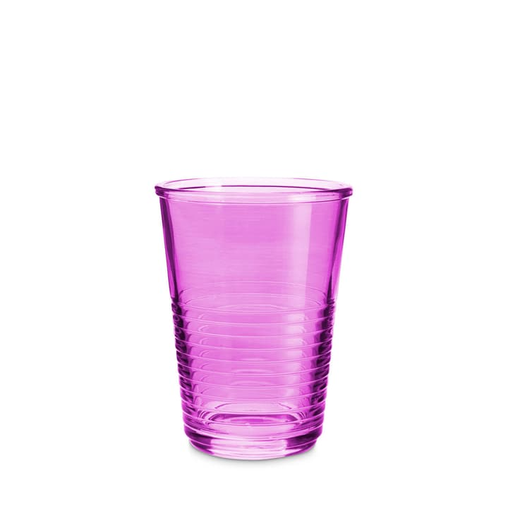 MACAO Verre à eau 393013700000 Dimensions L: 8.0 cm x P: 8.0 cm x H: 10.5 cm Couleur Violett Photo no. 1