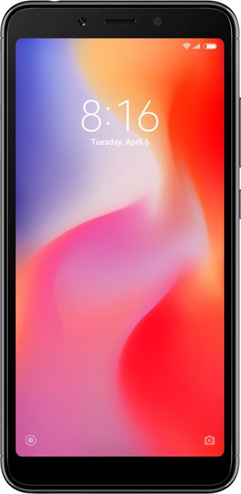 Redmi 6A Dual SIM 16GB black Smartphone xiaomi 794637000000 Photo no. 1