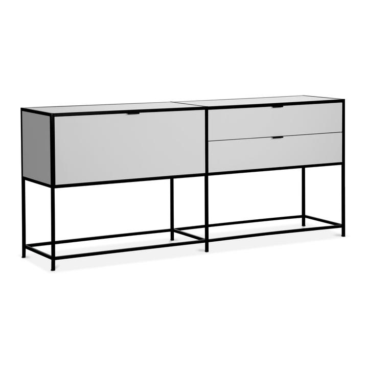 SEVEN Sideboard Edition Interio 360976300000 Grösse B: 183.0 cm x T: 38.0 cm x H: 80.0 cm Farbe Weiss Bild Nr. 1