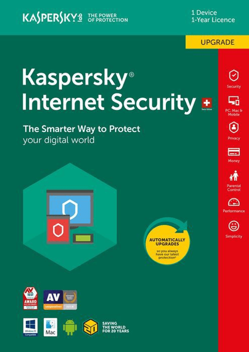 PC / Mac / Android Internet Security Upgrade Kaspersky 785300129052 Photo no. 1