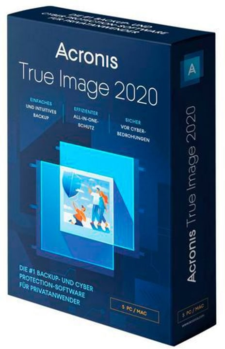 Acronis True Image Standard 2020 Vollversion Physique (Box) 785300147629 Photo no. 1