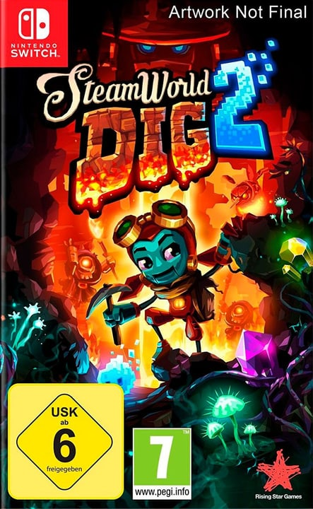 Switch - Steamworld Dig 2 (F) Physique (Box) 785300132727 Photo no. 1