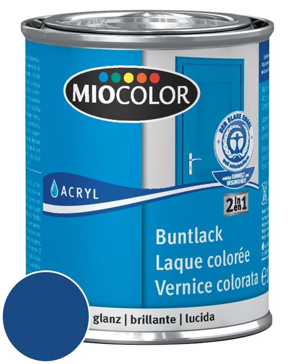 Acryl Pittura per pavimenti Grigio Argento 2.5 l Miocolor 660540200000 Contenuto 375.0 ml Colore Blu genziana N. figura 1